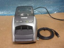 Brother Ql 570 Thermal Label Printer With Power Cord Amp Printer Cable