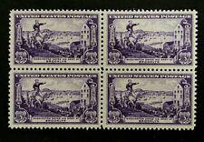 US Stamps, Scott #1003 Battle of Brooklyn 1951 3c Block of 4 XF M/NH