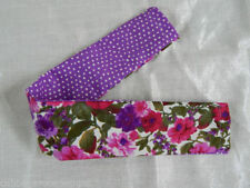 Handmade Fabric Dog Collars
