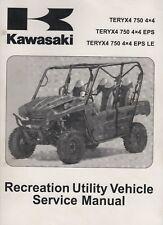 2012 KAWASAKI RECREATIONAL ATV TERYX4 750 4X4 SERVICE MANUAL 99924-1452-32(693)