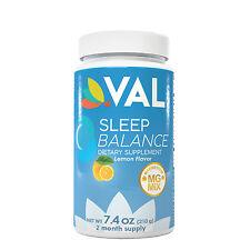 SLEEP BALANCE VAL   NATURAL SLEEPING COMPLEX   MAGNESIUM, MELATONIN & L-THEANINE