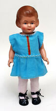 Ganz alte Cellba Celluloid Puppe Nixe 25 cm, handbemalt, D orig. um 1940, Top!