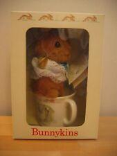 1990 Nip Royal Doulton Bunnykins Soft Toy In-A-Mug