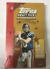 2004 Topps Draft Picks and Prospects NFL Football Factory Sealed Hobby Box