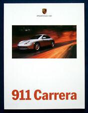 Prospekt brochure Porsche 911 Carrera (USA, 1999)