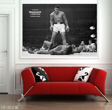 Muhammad Ali Poster no2 Boxing Motivational Sport Wall Art 50x35 PHOTO PAPER