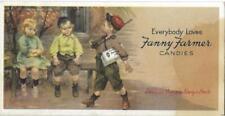 "Vintage "" Everybody Loves Fanny Farmer Candies"" Blotter"