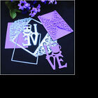 3D NEW Metal Cutting Dies Stencil Scrapbook DIY Album Paper Card Embossing Craft