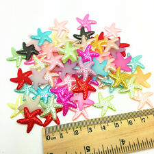 50PCS 19MM Resin starfish Multicolor Flat back Scrapbooking For DIY Craft Art