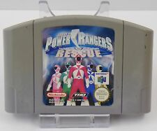 Nintendo 64-n64 gioco-Power Rangers Lightspeed Rescue