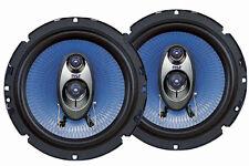 Pair New Pyle PL63BL 6.5'' 360 Watt Three-Way Speakers Car Audio