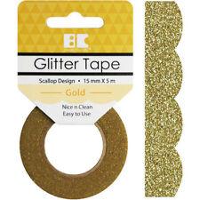 Glitter Gold Scrapbooking Cardstock