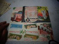 Ancien Dépliant Publicitaire A LA COMTESSE DU BARRY 1950 Foie Gras Ballotine