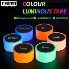 Waterproof Luminous Tape Self-adhesive Glow in Dark Safety Stage Decor 1cm x 5m