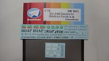 Dreammodel 0811 1/72 Decal for SU-24M for Iran Air Force for Trumpeter
