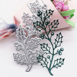 Branch Metal Cutting Dies Scrapbooking Paper Cards Embossing Template Stencil