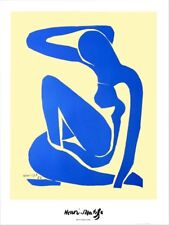 Henri Matisse - Blue Nude - signiert - Farboffset - 1952