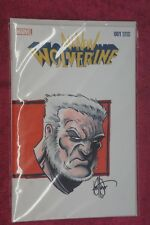 All-new Wolverine #1 variant w/old man logan color sketch & sign Haeser A.P. Nm