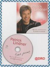 PATRICK LINDNER + CD + Meine schönsten Liebeslieder + 15 romantische Lieder +