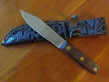 Buck Knives 110 Folding Hunter 0110BRSWM-B Lockback Folding Knife With Sheath