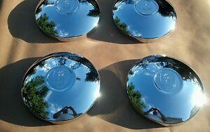 vw volkswagen Bug super beetle karman ghia porsche 914 chrome hubcaps set of 4