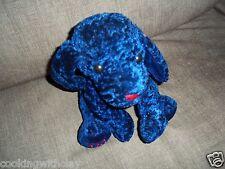 ANICO PLUSH DOLL FIGURE VALENTINES BLUE ORIENTAL HAPPINESS PUPPY DOG BEANBAG TOY