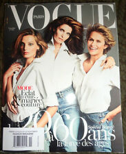 Vogue Paris 11/2012 Anja Rubik Kendra Spears Stephanie Seymour Anna Selezneva