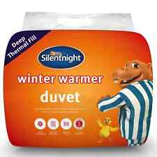 Silentnight Winter Warm Duvet 15.O Tog Deep Thermal Fill Single New