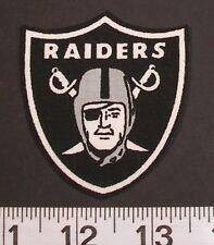 NFL Oakland Raiders Fabric PATCH Iron On Applique Logo DIY Craft Football Sports