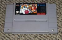 VTG Super Bowling NINTENDO SNES Tested Working Authentic VIDEO GAME CARTRIDGE