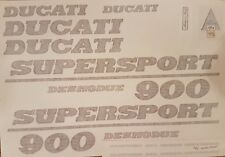DUCATI 900 SUPERSPORT  MODEL  PAINTWORK DECAL KIT