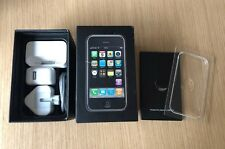 Apple iPhone 1st Generation 2g 8gb 13 icon Box + Usb Lead, Plug, Dock RARE 02 UK