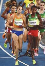 Atletismo: Maureen Koster firmado 6x4 Rio 2016 foto de acción + certificado De Autenticidad * Países Bajos *