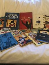 More details for collection of magic & clowning books/mags/videos owned by late rosy gibb mmc