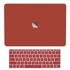 2in1 Wine Red Matte Hard Case+Keyboard Skin for Macbook Pro 13 WITHOUT Touch Bar