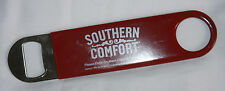 Southern Comfort Beer Bottle Opener Popper Stainless Metal With Red Rubber Grip