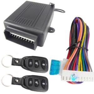 Car Door Lock Vehicle Keyless Entry System Remote Control Central Kits 10-14V