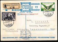 Schweiz 182 Briefe/Belege als Zusatzfrankatur auf Ganzsache P137 01 per Flugpost