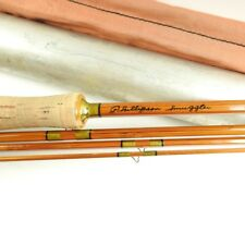 "Phillipson Smuggler Bamboo Fly Fishing Rod. 7' 8"". W/ Tube and Sock."