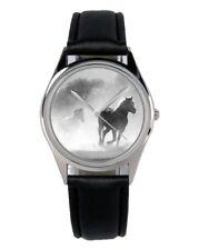 Pferde Geschenk Fan Artikel Zubehör Fanartikel Uhr B-2846