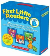 First Little Readers Parent Pack: Guided Reading Level B : 25 Irresistible...