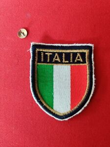 ITALIA ITALY FIGC EMBROIDERED  BADGE SEW ON PATCH