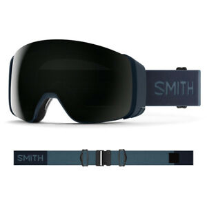 2021 Smith 4D MAG Goggle-French Navy w/ CP Sun Black + CP Storm Rose Flash