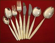 Vintage LUKE Silverplate Cutlery Set Complete with Canteen Setting for 6 - 43 pc