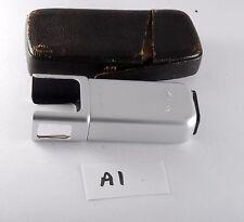 Vintage 1950s Minox Spy Camera Bulb Flashgun Model B Clean w Leather Case A1