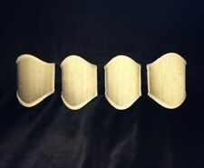 New listing Vintage Shield-Shaped Clip on Raw Silk Sconce Shades
