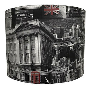 Muriva London Wallpaper Lampshades Ideal To Match London Duvets London Cushions