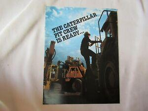 CAT Caterpillar mass excavation equipment brochure loader truck excavator
