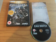 Call of Duty 2 Game of the Year Edition PC DVD, tested c/w manual