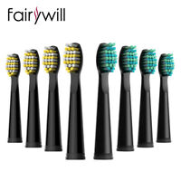 8 x Electric Toothbrush Brush Head Fairywill Dental Sonic Clean for FW507 FW508